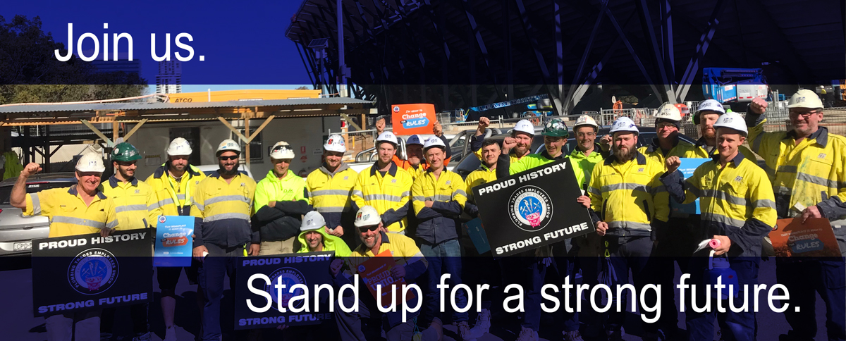 Join the PTEU NSW