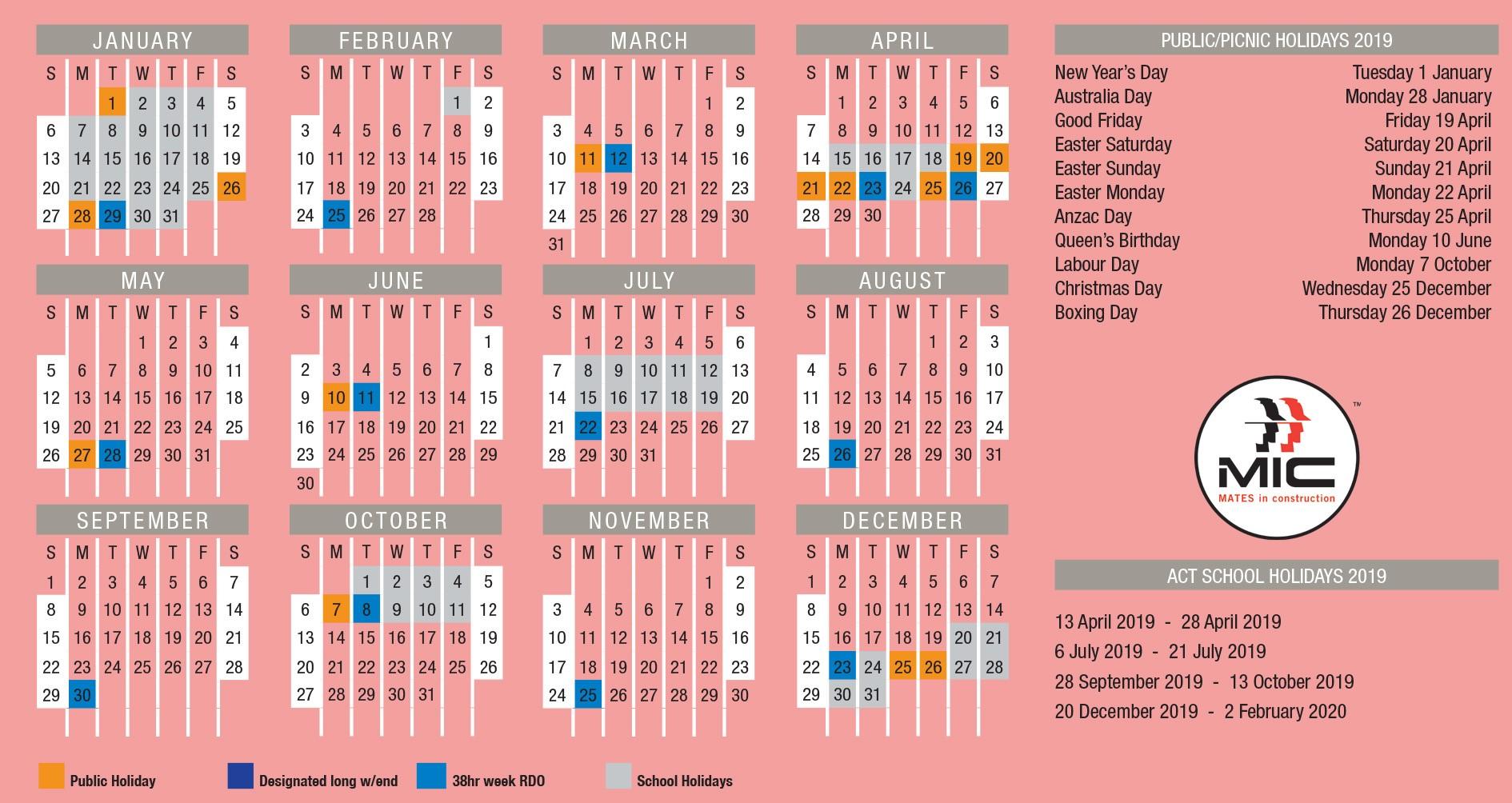 RDO-2019-Calendar